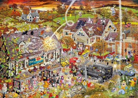 I Love Autumn - Mike Jupp Puzzel (1000 stukjes)