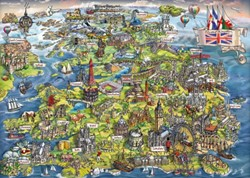 Beautiful Britain Puzzel (1000 stukjes)