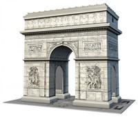 Arc de Triomphe - 3D Puzzel (216 stukjes)-2