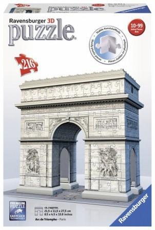 3D Puzzel - Arc de Triomphe (216 stukjes)