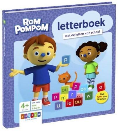 Rompompom - Letterboek