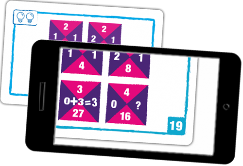 Logic Cards - Blue-3