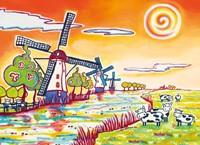 1001 Kleuren - Kinderdijk Puzzel (100 stukjes)-2