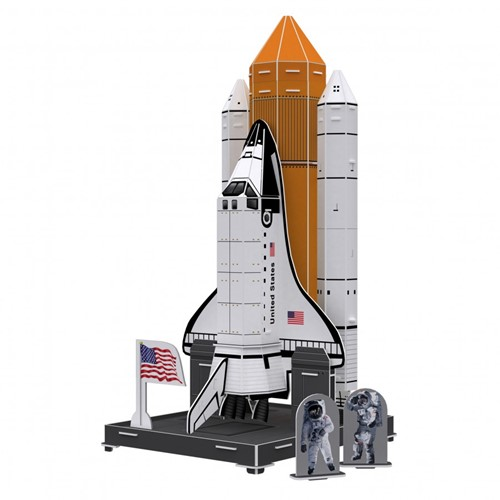 3D Puzzel Kids - Space Exploration (65 stukjes)-2