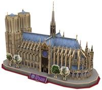 3D Puzzel - Notre Dame (128 stukjes)-2