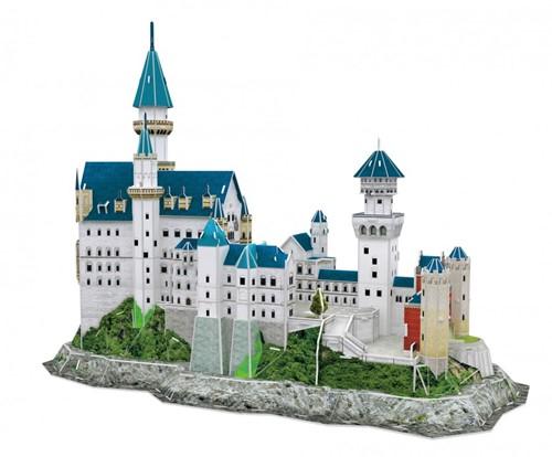3D Puzzel - Neuschwanstein Castle (121 stukjes)-2