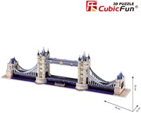 3D Puzzel Tower Bridge (120 stukjes)-2