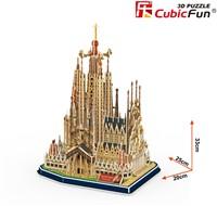 3D Puzzel - Sagrada Familia (194 stukjes)-2