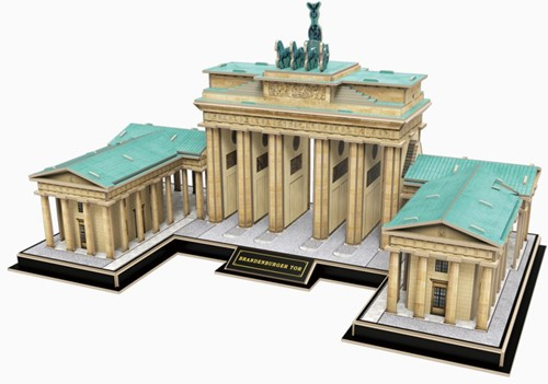 3D Puzzel - The Brandenburg Gate (150 stukjes)-2
