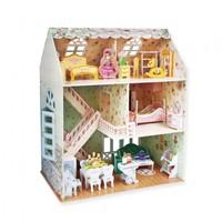 3D Puzzel - Dreamy Dollhouse (160 stukjes)-2