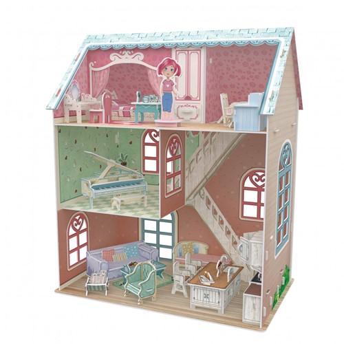 3D Puzzel - Pianist Home (105 stukjes)-2