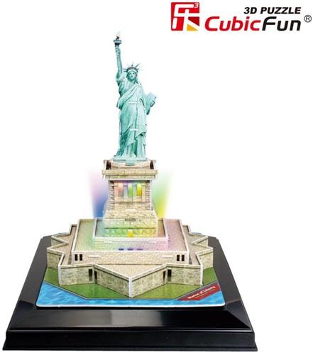 3D Puzzel Statue of Liberty LED (37 stukjes)