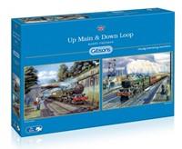 Up Main & Down Loop Puzzel (2 x 500 stukjes)-1