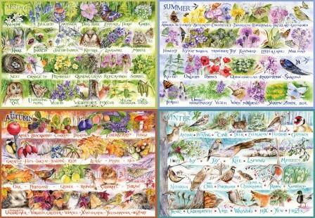 Woodland Seasons Puzzel (2000 stukjes)