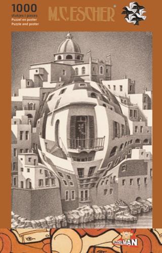 Balkon - M.C. Escher Puzzel (1000 stukjes)