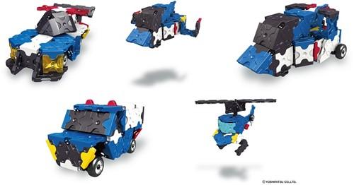 LaQ Hamacron Constructor Police Car-2