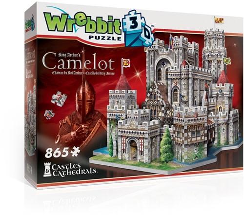 Wrebbit 3D Puzzel - King Arthur's Camelot (865 stukjes)