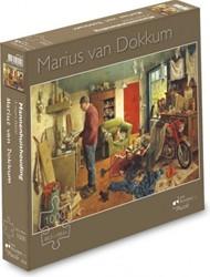 Mannenhuishouding - Marius van Dokkum Puzzel (1000 stukjes)