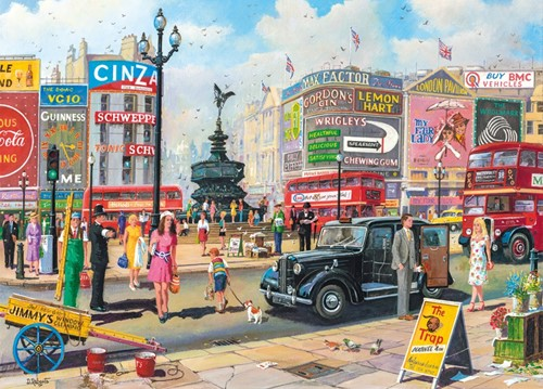 Piccadilly Puzzel (1000 stukjes)-2