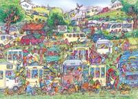 Caravan Chaos Puzzel (1000 stukjes)-2