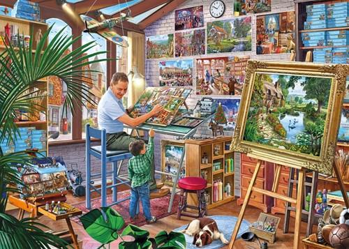A Work of Art - Steve Crisp Puzzel (1000 stukjes)-2