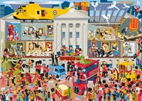 Lifting the Lid, Buckingham Palace Puzzel (1000 stukjes)-2