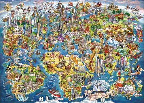 Wonderful World Puzzel (1000 stukjes)-2