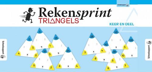 Rekensprint Triangels - Keer en Deel