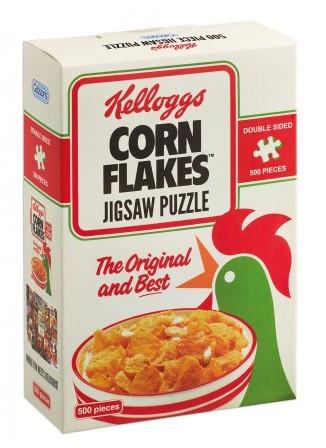 Kellogg's Cornflakes Gift Box Puzzel (500 stukjes)