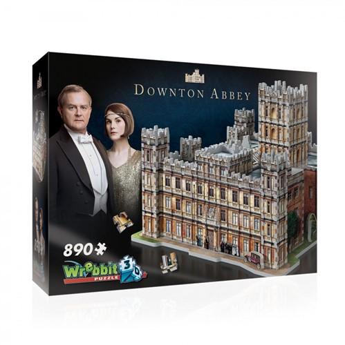 Wrebbit 3D Puzzel - Downtown Abbey (890 stukjes)