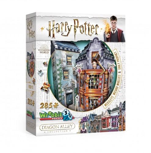 3D Puzzel - Harry Potter Weasleys Wizard Wheezes (285 stukjes)