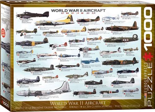 World War II Aircraft Puzzel (1000 stukjes)