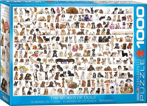 The World of Dogs Puzzel (1000 stukjes)