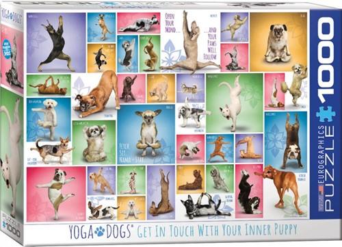 Yoga Dogs Puzzel (1000 stuks)