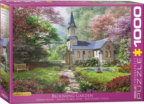 Blooming Garden - Dominic Davison Puzzel (1000 stukjes)