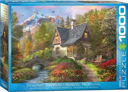 Nordic Morning - Dominic Davison Puzzel (1000 stukjes)