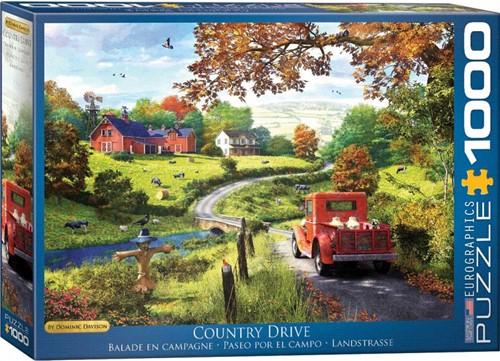 Country Drive - Dominic Davison Puzzel (1000 stukjes)