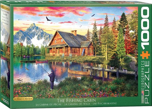 The Fishing Cabin - Dominic Davison Puzzel (1000 stukjes)