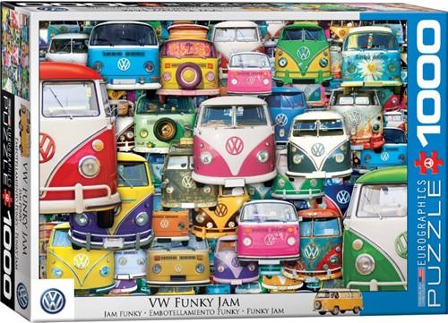 VW Funky Jam Puzzel (1000 stukjes)