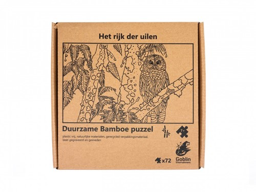 Het Rijk der Uilen Puzzel (72 stukjes)