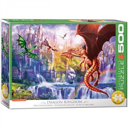 Dragon Kingdom Puzzel (500 XL stukjes)