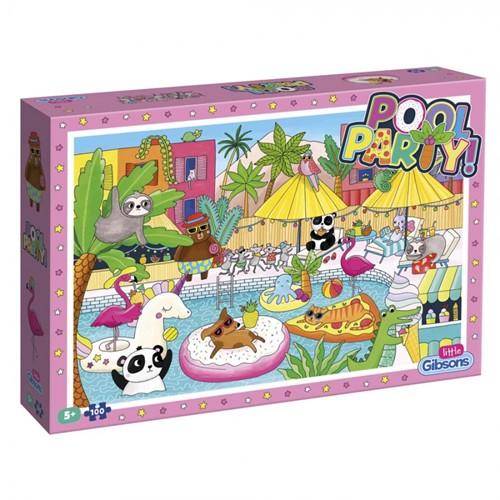 Pool Party Puzzel (100 stukjes)