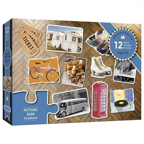Days Out - Piecing Together Puzzel (12 stukjes)
