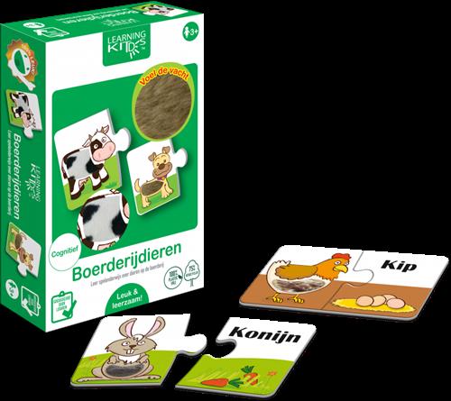 Learning Kitds - Boerderijdieren (6 x 2)