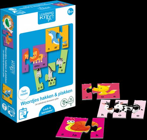 Learning Kitds - Woordjes Hakken & Plakken (26 x 3 stukjes)