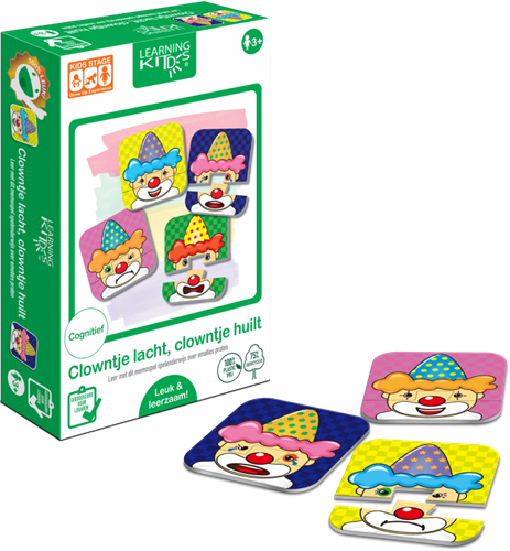 Learning Kitds - Clowntje Lacht, Clowntje Huilt