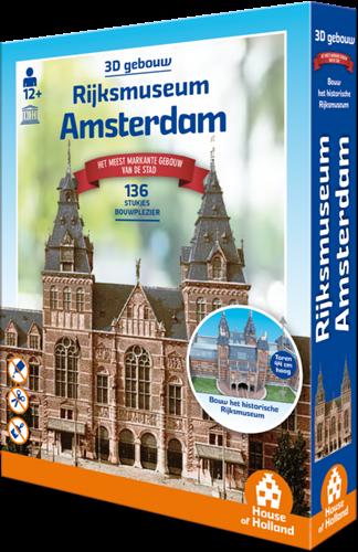 3D Gebouw - Rijksmuseum Amsterdam (134 stukjes)