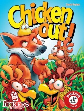 Chicken Out - Kaartspel
