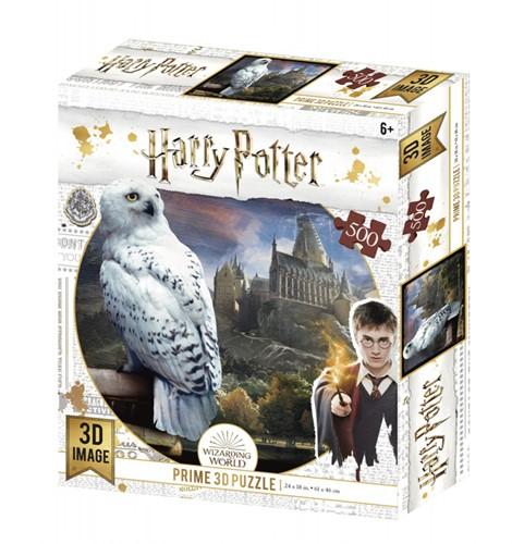 3D Image Puzzel - Harry Potter Hedwig (500 stukjes)