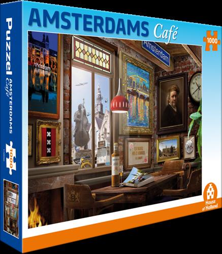 Amsterdams Café Puzzel (1000 stukjes)